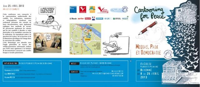 Conférences sur le thème Médias, Paix et Démocratie2