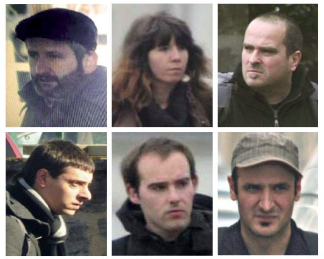 Un coup de filet policier en territoire français a conduit le 8 mai à l'arrestation de six membres actifs de l'Organisation armée ETA.