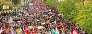Maiatzaren 30eko Greba Orokorra : Donostiako  manifestaldia
