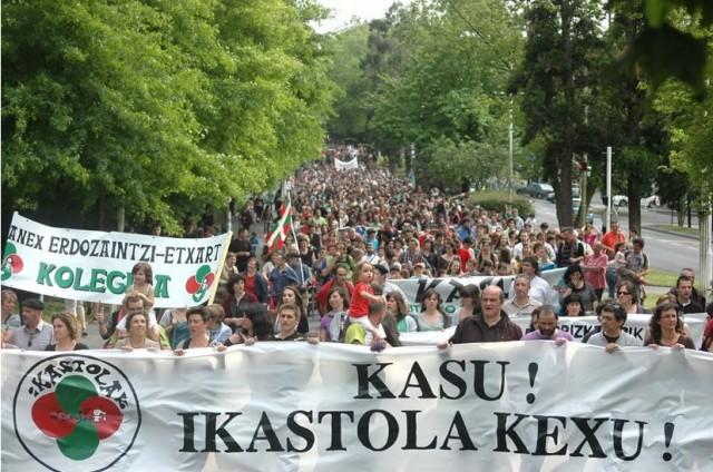 Seaska, la Fédération des écoles immersives en langue basque, encore et toujours mobilisée depuis sa naissance en 1969
