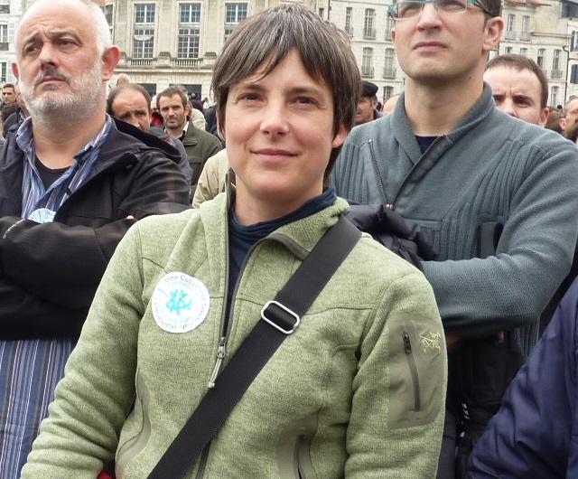 Amaia Munoa, secrétaire générale adjointe du syndicat ELA