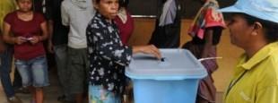 Vote Timor Leste