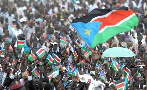 Proclamation d'Indépendance du Sud Soudan le 9 juillet 2011