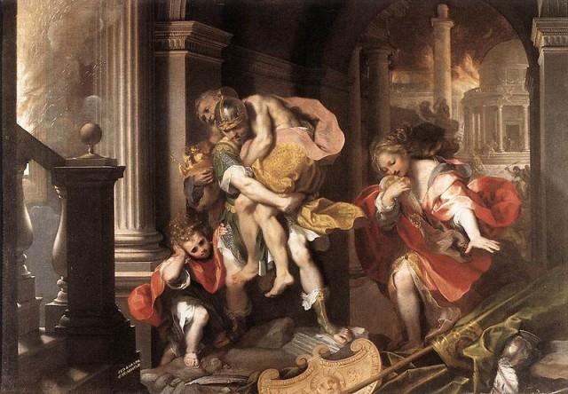Fuite de Troie