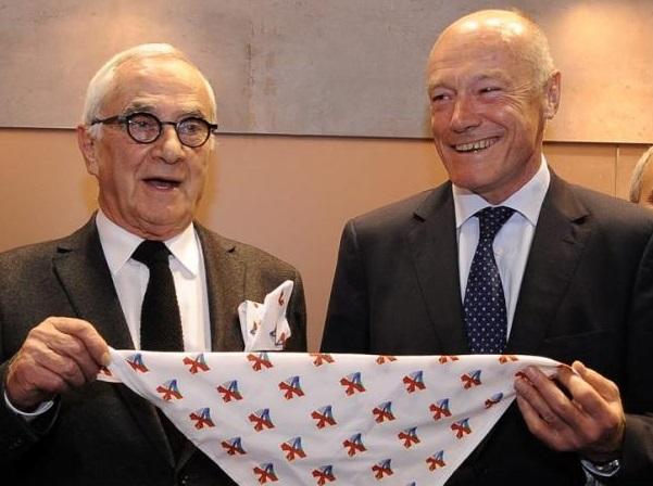 Martin Malvy et Alain Rousset respectivement président de la Région Midi Pyrénées et de la Région Aquitaine.