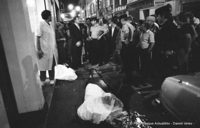 1985: Bayonne rue Pannecau, quatre morts au Mon Bar (Photo Velez)