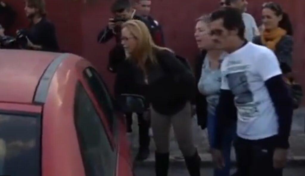 Déballage de rancune à la sortie de prison des preso d'ETA filmée et diffusée sur le site du quotidien ultra-conservateur La Razon et probablement par d'autres canaux...
