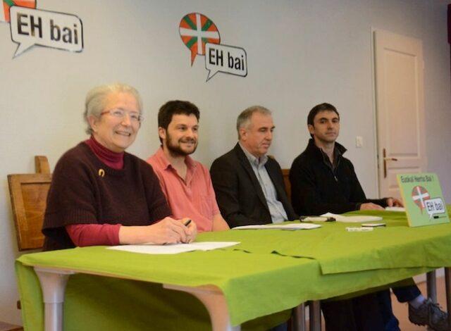 Argitxu Noblia, Peio Etcheverry-Ainchart, Alain Iriart, Xabi Larralde