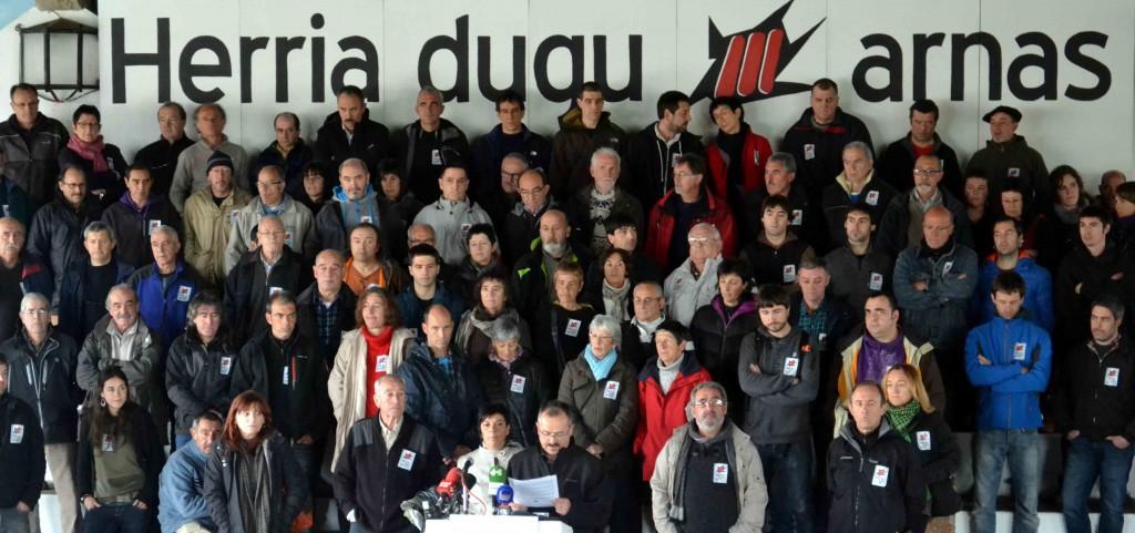 """Le Collectif des exilés politiques basques (EIPK) annonce le samedi 22 mars à Arcangues son intention de """"prendre le chemin du retour"""""""