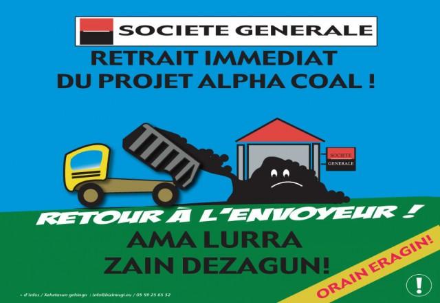 Affiche SG Alpha Coal Afitxa