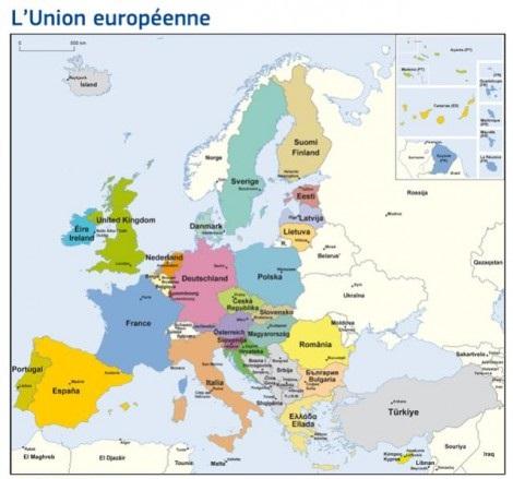 L'Europ des 28