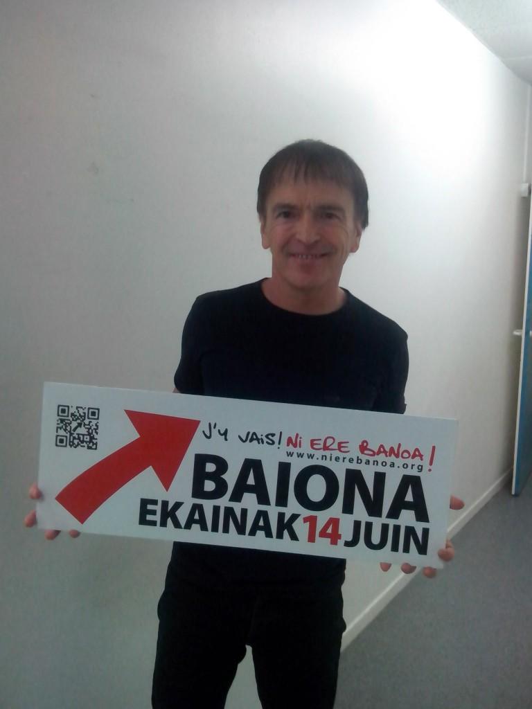 Jean François Bernardini, Leader du groupe I MUVRINI, soutient la manifestaton du 14 juin !