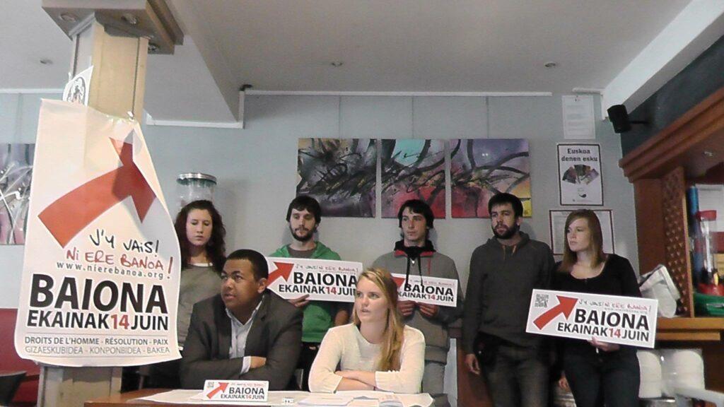 Les Jeunes socialistes, Jeunes démocrates, Aitzina, ELB gazte, Ernai, EHZ, IA, Euskaldun Gazteria iront aussi à la manifestaion du 14 juin