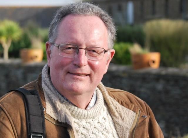 Pierre Delignière, président de l'association Bretagne-Ecosse