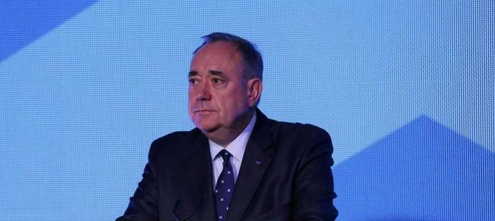 Alex Salmond, dans une apparition publique à la suite de la victoire du Non
