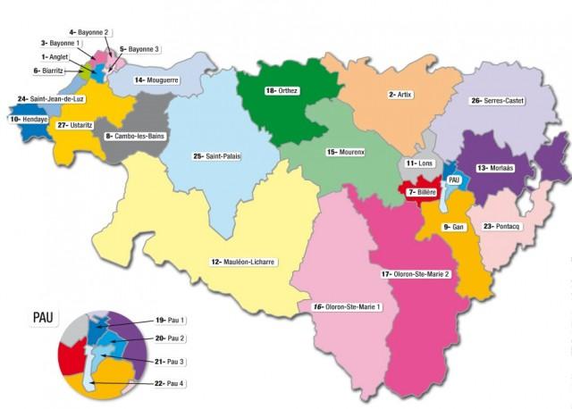 Kantonamendu berrien mapa