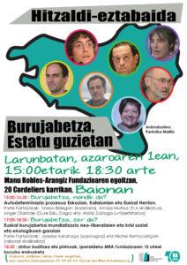 Hitzaldi-Eztabaida / Conférence-Débat @ 20, Cordeliers Karrikan | Bayonne | Aquitaine | France