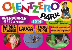 Olentzero Park @ Lauga gelan   Bayonne   Aquitaine   France