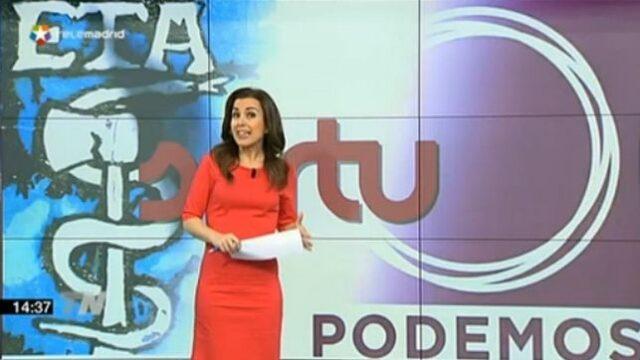 Podemos ETA da Tele Madrid-en arabera
