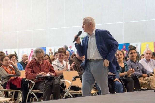 Intervention de Jean Jouzel, climatologue, Vice – Président du GIEC et Prix Nobel de la Paix lors du 3e forum 21 bayonnais qui a eu lieu jeudi 23 avril à la Maison des associations
