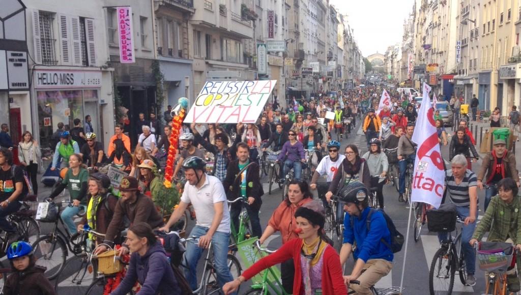 Pariseko Txirrindiraultza edo Climat Pride-a