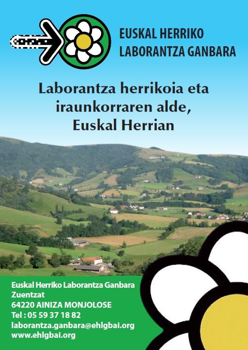 EHLG Laborantza Herrikoia & Iraunkorraren alde