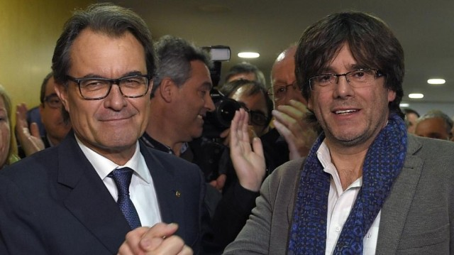 Mas et Puigdemont