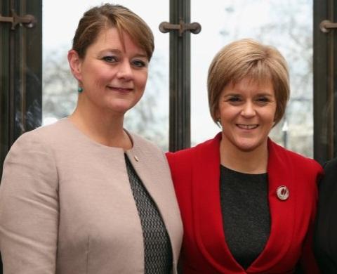 Plaid Cymru - Leanne Wood & SNP- Nicola Sturgeon