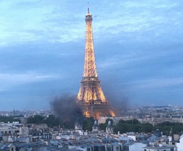 Incidents aux abords de la fan-zone de Paris lors de la Finale de l'Euro