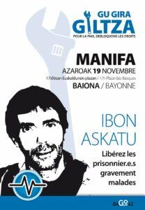 MANIFA: Gu gira giltza ! Pour la paix, débloquons les droits !  @ BAyonne, Place des Basques   Bayonne   Aquitaine-Limousin-Poitou-Charentes   France