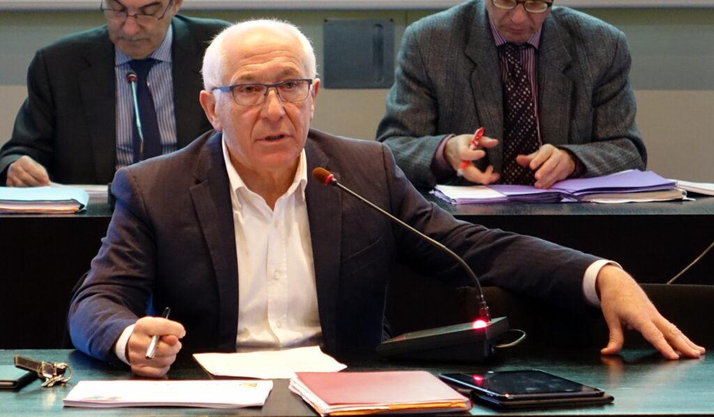 Jean-René Etchegaray, Président du comité de pilotage pour la préfiguration de l'EPCI Pays Basque