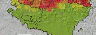 Euskal hiztunen proportzioa, erdaldun hutsen aldean (https://eu.wikipedia.org/wiki/Euskara)