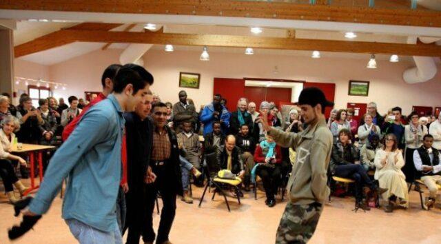 Le 31 janvier 2016, une fête a été organisée à l'occasion du départ des réfugiés de Baigorri.