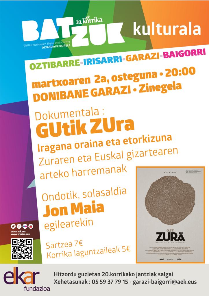 20.korrika kulturala ÔÇó Gutik zura dokumentala