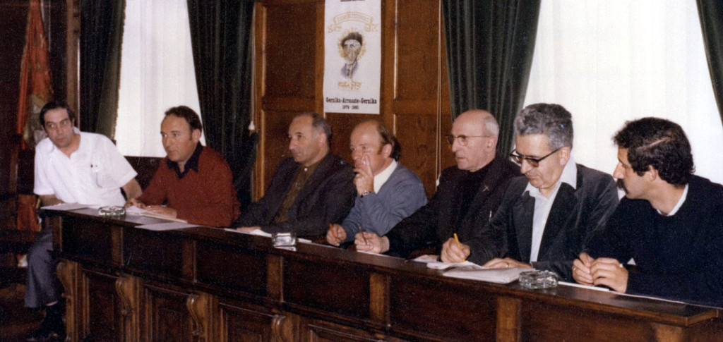 1979 Seber Altube omenaldia GERNIKA