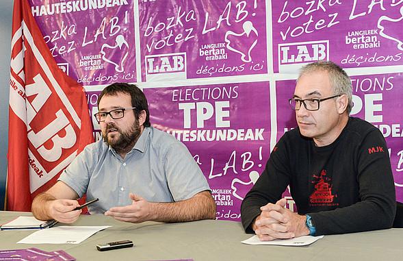 Eñaut Aramendi et Jeronimo Prieto.