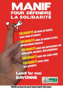 Manif du 1er Maiatzaren Leheneko Manifa @ Pont Saint-Esprit, côté Gare | Bayonne | Nouvelle-Aquitaine | France
