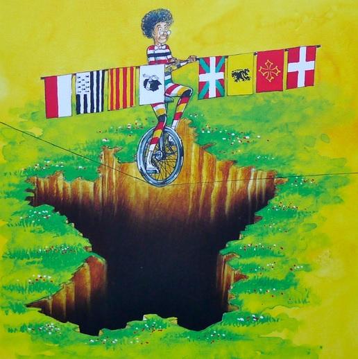 Langues régionales au bord du gouffre? liburuaren azala