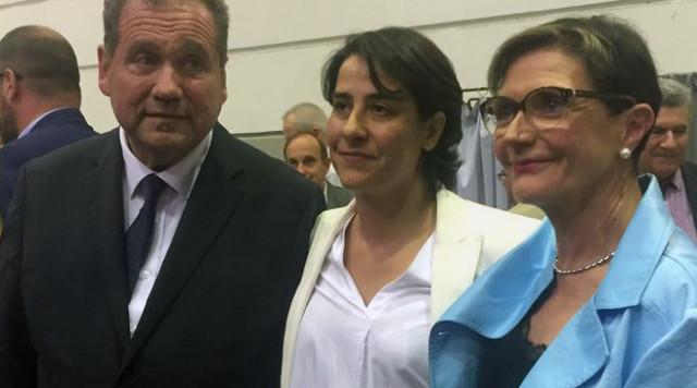 Les trois sénateurs PA : Max-Brisson, Frederique Espagnac et Denise Saint-P&