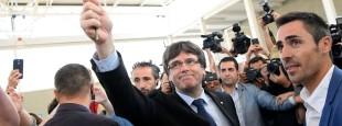 Le peuple catalan et son président, Carles Puigdemont, symboles de la non-violence active et de la résistance civile