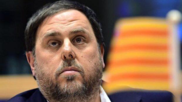 Oriol Junqueras, ERC-eko zuzendaria, beti preso Espainian.