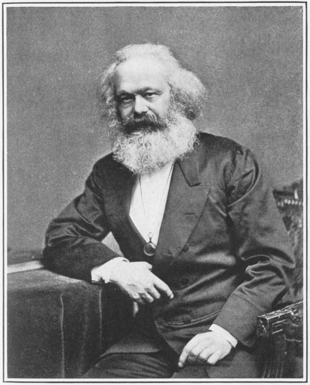 Karl Marx en février 1848.