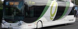 Un bus à Anglet…