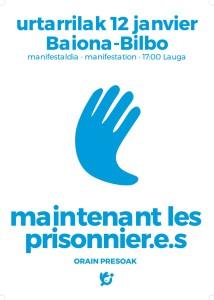 Orain presoak ! Maintenant les prisonnier·e·s @ Lauga | Bayonne | Nouvelle-Aquitaine | France
