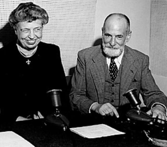 Eleanor Roosevelt eta René Cassin