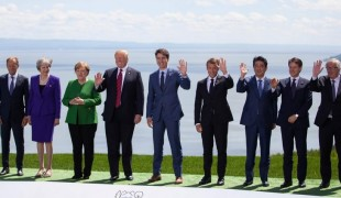 Réunion du G7 en 2018