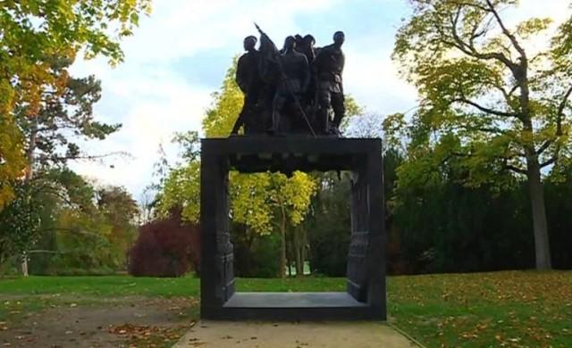 Le Monument aux héros de l'armée Noire à Reims, un hommage aux Tirailleurs Sénégalais
