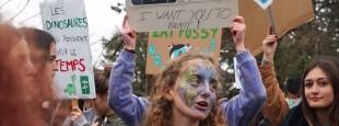 Nahia Briault, militante de Fridays For Future Pays Basque et de Youth For Climate France
