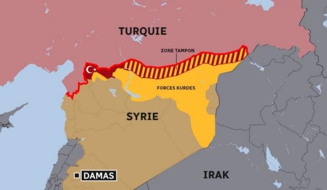 Turquie, Syrie, Kurdes
