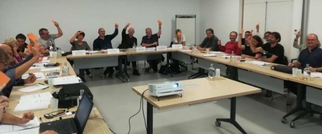Le Conseil de Direction du CDPB  adopte les Contributions aux plans d'action de 3 schémas stratégiques de la Communauté d'Agglomération le 10/10/2019.